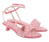 Second Hand  Sandalen in Rosa / Pink