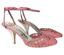 Second Hand  Sandaletten in Rosa