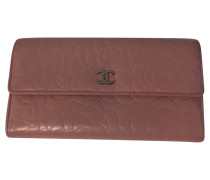 Second Hand Täschchen/Portemonnaie aus Leder in Rosa / Pink