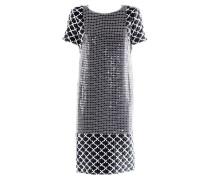 Second Hand  Kleid schwarz / weiß
