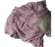 Second Hand  Schal/Tuch aus Kaschmir in Rosa / Pink