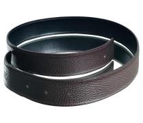 Second Hand  Gürtel aus Leder in Braun