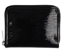 Second Hand  Zippy Portemonnaie aus Lackleder in Schwarz