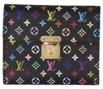 Second Hand  Geldbörse aus Monogram Multicolore Canvas