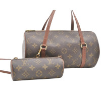 "Second Hand  ""Papillon 30 Monogram Canvas"""