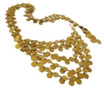 Second Hand  5-Reihen Gürtel unzählige CC Münzen