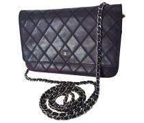 Second Hand Wallet on Chain Leder Handtaschen