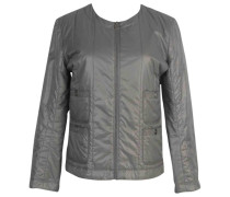 Second Hand Jacke Polyester Grau