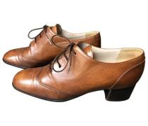 Second Hand Leder Schnürschuhe