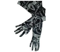 Second Hand Seide lange handschuhe
