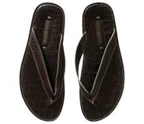 Second Hand Aligator sandalen