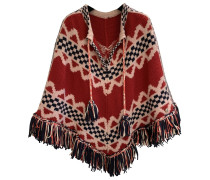 Second Hand Wolle Poncho