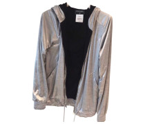 Second Hand Pullover Polyester Silber