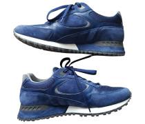 Second Hand Sneakers Veloursleder Blau