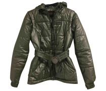 Second Hand Jacke Polyester Grün