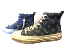 Second Hand Stellar Leinen Sneakers