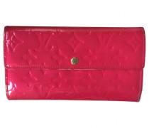 Second Hand Portemonnaie Lackleder Rosa