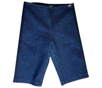 Second Hand Shorts Baumwolle Marine
