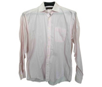 Second Hand Shirt Baumwolle Rosa