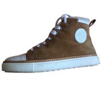 Second Hand Sneakers Veloursleder Braun