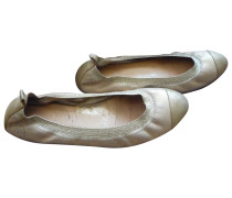Second Hand Leder Ballerinas