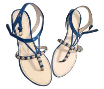 Second Hand Lackleder Flip-flops