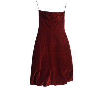 Second Hand Samt Midi kleid
