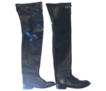 Second Hand Jumping Leder Stiefel