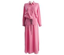 Second Hand Kleid Seide Rosa