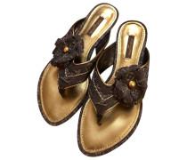 Second Hand Leinen Flip-flops
