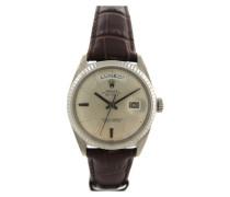 Second Hand Day Date 36mm Weißgold Uhren
