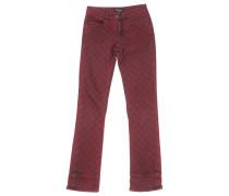 Second Hand Jeans Baumwolle - Elasthan Bordeauxrot