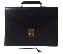 Second Hand Kourad Leder Business tasche