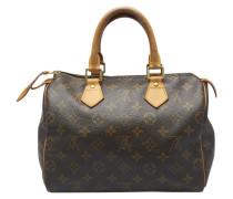 Second Hand Speedy Leinen Handtaschen