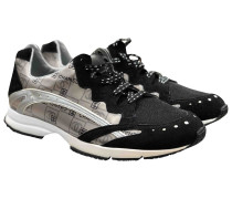 Second Hand Sneakers Leinen Beige