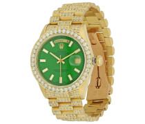 Second Hand Day Date 36mm Gelbgold Uhren
