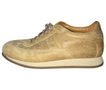 Second Hand Sneakers Veloursleder Beige