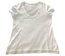 Second Hand Top Baumwolle Weiß