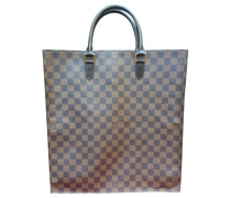 Second Hand Plat Leinen Shopper