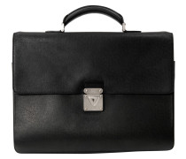 Second Hand Monceau Leder business tasche