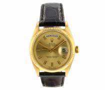 Second Hand Day-Date 36mm Gelbgold Uhren