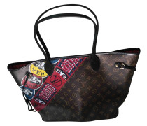 Second Hand Neverfull Leinen Shopper