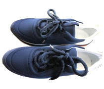 Second Hand Sneakers Polyester Blau