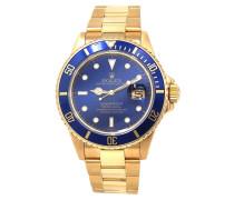 Second Hand Submariner Gelbgold Uhren