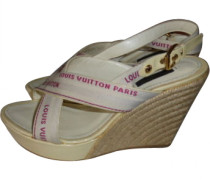 Second Hand Clogs Beige