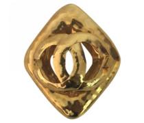 Second Hand Brosche Goldplattiert Golden