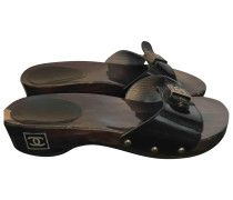 Second Hand Lackleder clogs