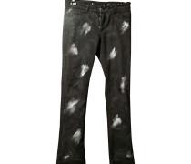 Second Hand Jeans Baumwolle Schwarz