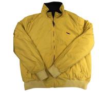 Second Hand Jacke.Blouson Synthetik Gelb