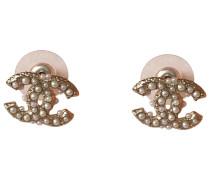 Second Hand CC Perlen Ohrringe
